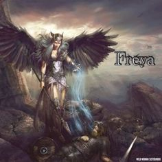 """According to the book The Rites of Odin - Freya was the sister of Freyr. Especially in early times, she was very all-encompassing in her attributes, and seemed to have inherited many of them from various personifications of the Great Goddess who far preceded the Gods of Valhalla. Freya is famed for her great beauty, and indeed is often known as """"The Fair One"""". In the earlier days she also rewarded good housewives, though in later times Frigga has become more the patron of the home. Freya is…"""