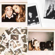 Ariana and her Polaroid haha it's adorable