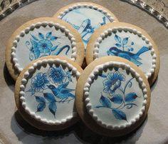 Delft Tile Cookies