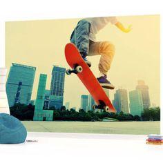 skateboard wall mural - Google Search