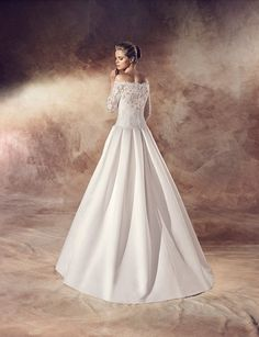 Avenue Diagonal 2016 - Demetra Boutique One Shoulder Wedding Dress, Boutique, Wedding Dresses, Collection, Fashion, Models, Ukraine, Boyfriends, Moda