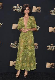 Zendaya in Zuhair Murad @ 2017 MTV Movie & TV Awards...