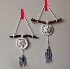Dromenvanger haken - crochet dream catcher