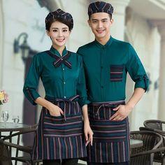 Cafe Uniform, Waiter Uniform, Hotel Uniform, Staff Uniforms, Work Uniforms, Chef Dress, Corporate Shirts, Restaurant Uniforms, Uniform Design