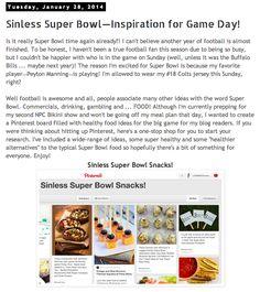 Sinless Super Bowl Snack Inspiration Blog Post   #superbowl #healthysnacks #healthyrecipes #fitblogger #littlemsfiness  Read more blogs written by online personal trainer and NPC Bikini Competitor Kylie Marie Burnside at www.littlemsfitness.com
