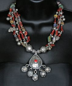An Amazigh tribal necklace.