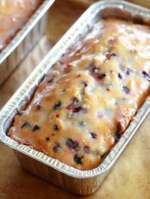 *Riches to Rags* by Dori: Lemon Blueberry Yogurt Loaf