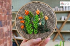 Bordado, embroidery, bastidor, flores, inspiração