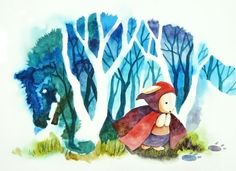 Little Red Riding Hood by sdPink