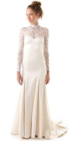 Temperley London Long Grace Bridal Dress