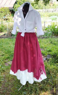 Buy No. 173.1 Linen skirt boho - skirt boho, boho skirt