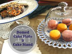 DIY Cake Stand & Mini Domed Cake Plate