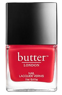Nontoxic Nail Polish In a smashing metallic red. Highly pigmented red metallic shade of nail polish, Crafted Without Harmful Ingredients. Butter London Minted, Butter London Nail Polish, Glitter Nail Polish, Mint Nails, Red Nails, White Eye Pencil, Opal Nails, London Nails, Knee Up