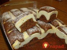 Tento koláčik je naozaj výborný - lahodný a vláčny. Milujú ho malí aj veľkí maškrtníci.