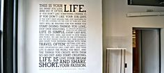 HOLSTEE Manifesto...Live your Dream and Share your Passion