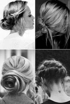 elegant & simple up do