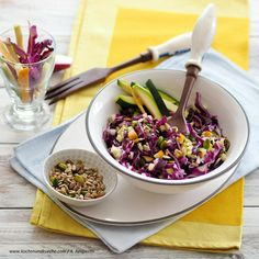 Sommersalat Kraut, Acai Bowl, Breakfast, Food, Cooking Recipes, Diabetic Living, Acai Berry Bowl, Morning Coffee, Meal