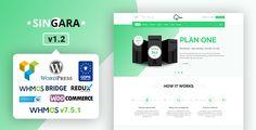 Singara - Multipurpose Hosting with WHMCS WordPress Themes