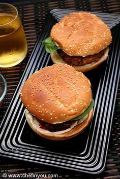 Easy Tofu Burger Recipe | Best Veggie Burger Recipes