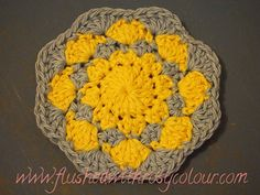 Ravelry: Tiny Shells Coaster pattern by Teena Sutton Murphy