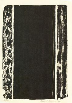 Barnett Newman, Untitled, 1961
