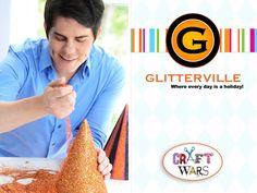 Stephen Brown  Glitterville.com / Judge on TLC's Craft Wars http://pinterest.com/glitterville/