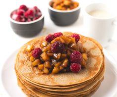 How to make vegan gluten free crepes   simpleveganblog.com #vegan #glutenfree