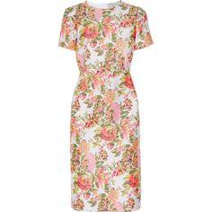 Stella McCartney Floral jacquard dress ($1,195) ❤ liked on Polyvore