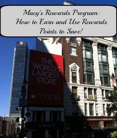 macy's rewards
