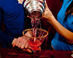 #wikiHow to Make a Candy Apple Martini