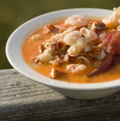 Lobster Chowder Recipe Soups with unsalted butter, onions, russet potatoes, broth, sea salt, ground black pepper, lobster claws, evaporated milk, dried basil, milk