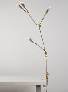 DIY Mobile and Clamp Lamps from Lindsey Adelman