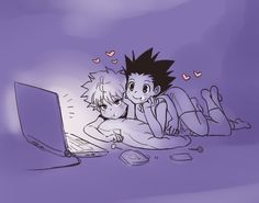 Killua and Gon | Killugon        ~Hunter X Hunter