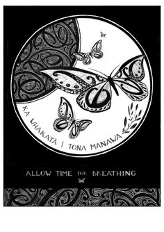 """Breathe"" New Zealand Art Print, limited edition of Birth Affirmations, New Zealand Art, Nz Art, Maori Art, Let's Create, Archetypes, Kiwi, Teaching Resources, Printmaking"