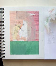 Process. Trying green  #ddiez #art #illustration #drawing #draw #moleskineart #autumn #body #picture #artist #sketch #sketchbook #grass #portrait #pencil #artsy #instaart #artista #instagood #gallery #pink #creative #photooftheday #instaartist #graphic #paulklee #artoftheday #danieldiez by ddiezonce