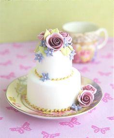 Mini_Bolo_Bolo de Casamento - #minibolo #bolodecasamento #meucasamentoperfeito