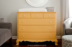 This color is so pretty and unusual. Dresser Makeover {Annie Sloan Chalk Paint Arles} » Casa de Lewis