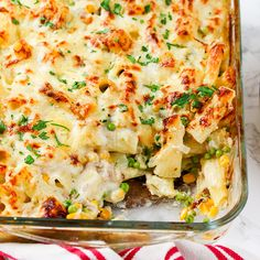 Creamy Tuna Pasta Bake - a classic meal that everyone loves - made with mostly store-cupboard ingredients! I serve it with a big plate of salad leaves (usually romaine and pea shoots or spinach) to add some fresh crunchiness. Baked Pasta Recipes, Tuna Recipes, Milk Recipes, Seafood Recipes, Dinner Recipes, Cooking Recipes, Gnocchi Recipes, Dinner Ideas, Tuna
