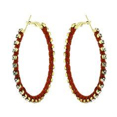 Boucles d'oreilles - Anneaux en métal, cristal, corde rouge ShalinIndia http://www.amazon.fr/dp/B009TMUIOI/ref=cm_sw_r_pi_dp_jhoZtb1VQSVW1XM2