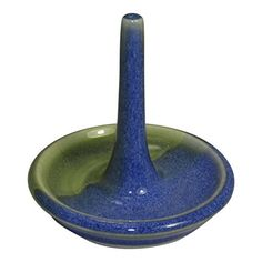 Becky Wright Pottery Hand Thrown Stoneware Ring Holder - Made in the USA (Blue/Green) Becky Wright Pottery http://www.amazon.com/dp/B00X4Z553A/ref=cm_sw_r_pi_dp_YxWyvb1ZFJA17