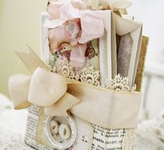 Make the box, fill with blank handmade cards, what a cute gift this would make!