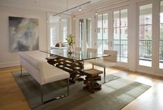 Modern Home Design, Pictures, Remodel, Decor and Ideas - page 125.  Chacha area rug.