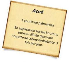palmarosa acné