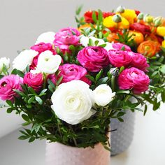 Merveilleuses Renoncules #renoncules #flowers #flowerdelivery