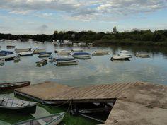 #botes #rio #nubes #contaminacion #vegetacion #bajadadelanchas #suciedad