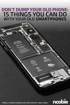 Don't Dump Your Old Phone: 15 Things You Can Do With Old Phones - tecnology World Cell Phone Hacks, Old Cell Phones, Smartphone Hacks, Old Phone, New Electronic Gadgets, Electronic Circuit Projects, Gadgets And Gizmos, Computer Gadgets, Diy Tech