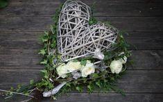 All Saints - Dandelion Inexpensive Flower Arrangements, Modern Flower Arrangements, Valentine Wreath, Valentines, Cemetery Decorations, Easter Cross, All Saints, Grapevine Wreath, Christmas Diy