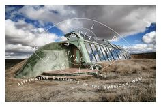 RANGE Magazine examines American West alternative architecture, including Salvation Mountain, Slab City, Earthship and Arcosanti. Slab City, Salvation Mountain, Earthship, Alternative, Range, Magazine, Spaces, Architecture, American