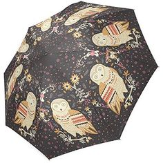 Grrl owl Foldable Rain Umbrella