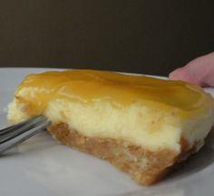 Cheesecake de Curd de Limão - http://www.receitasja.com/cheesecake-de-curd-de-limao/